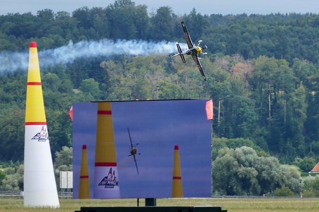 Red Bull Air Race Demo Grenchen Airport Switzerland