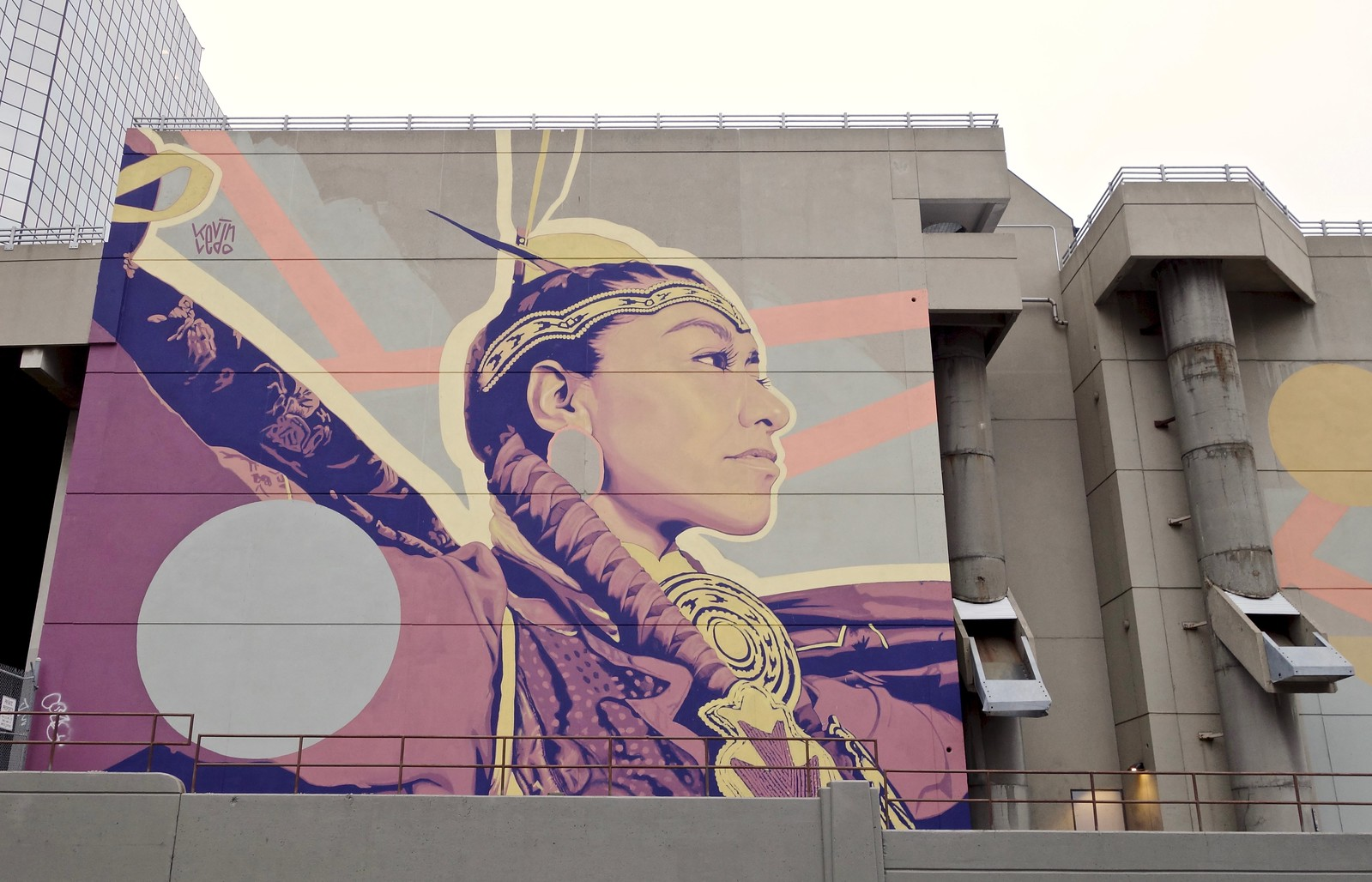 Indigenous expression, Calgary, Alberta, Canada