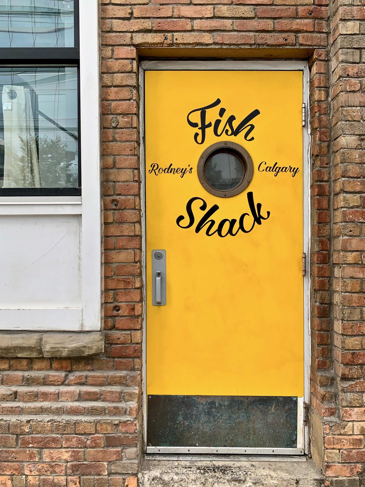 Fish shack, Calgary, Alberta, Canada