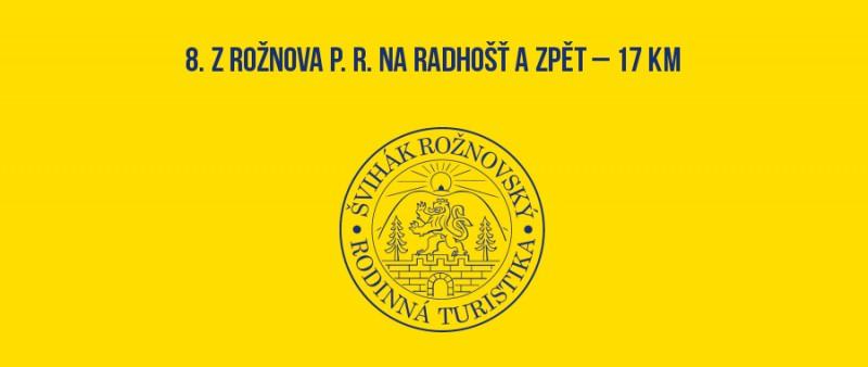 8. Z Rožnova p. R. na Radhošť a zpět – 18 km