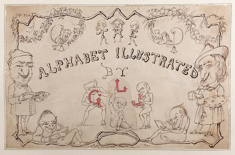 Reverend George Liddell Johnston - The Alphabet Illustrated, 10