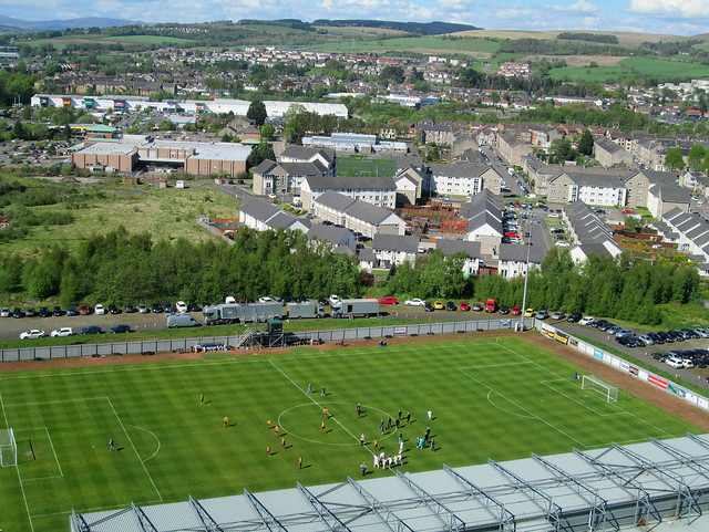 Teams  Line Up, Dumbarton Football Stadium