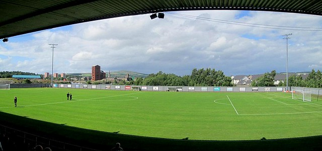 Pitch Panorama, Dumbarton Football Stadium