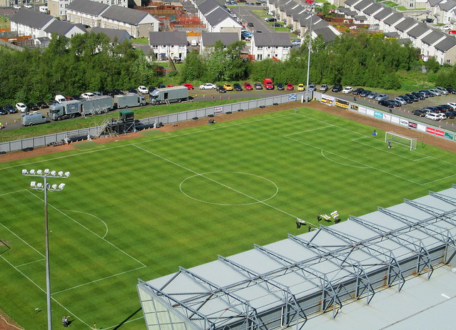 Pitch Dumbarton Football Stadium