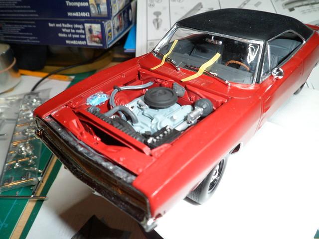 Défi moins de kits en cours : Dodge Charger R/T 68 [Revell 1/25] *** Terminé en pg 8 - Page 8 48522634112_0f524784b9_z