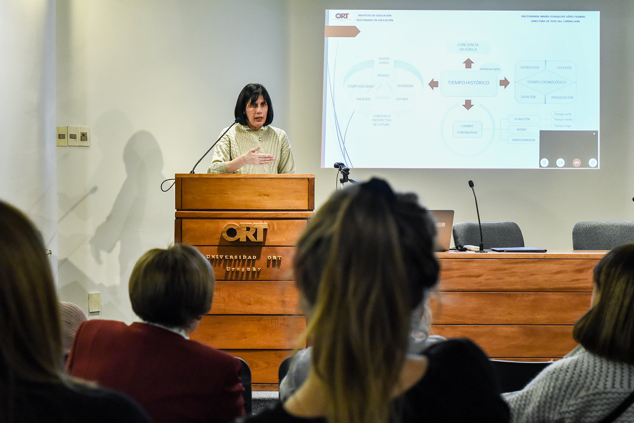 Defensa de tesis doctoral de Guadalupe López - Julio 2019