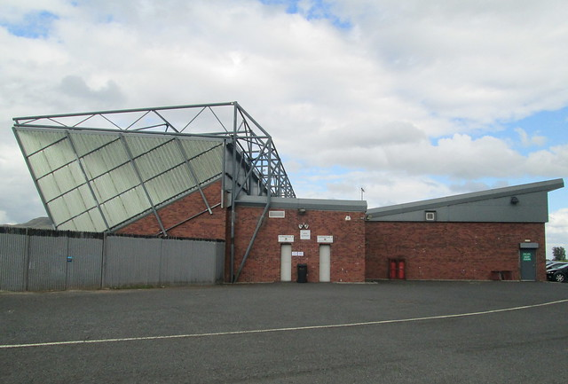 Dumbarton Football Stadium Stand