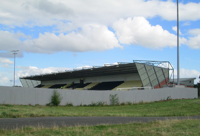 Dumbarton Football Stadium Stand Seating