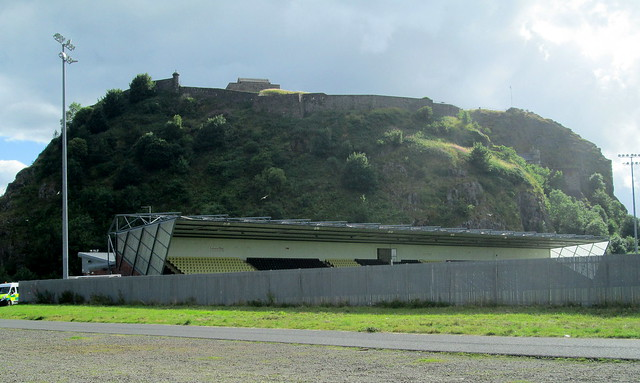 Dumbarton Football Stadium and Dumbarton Rock