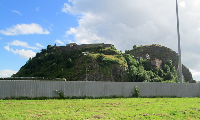 Dumbarton Rock and Dumbarton Football Stadium