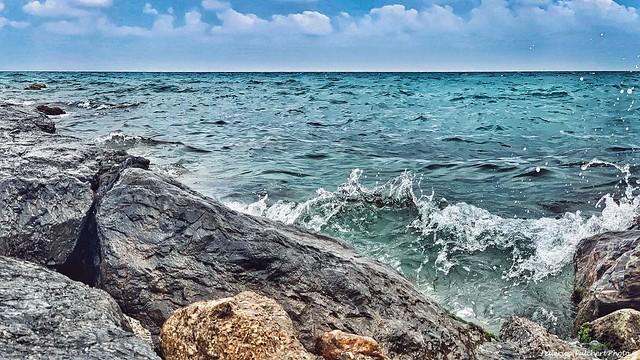 The sound of the sea  (Borghetto Santo Spirito, Liguria, Italy).