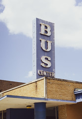 Abandoned Bus Center