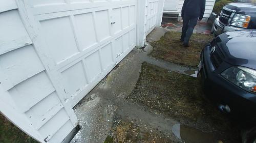 Garage Entrance - Closing Day