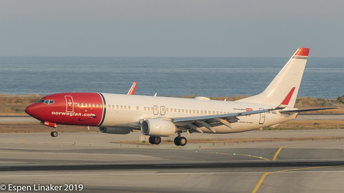 LN-NIG Norwegian Air Shuttle Boeing 737-8JP(WL) | by Otertryne2010