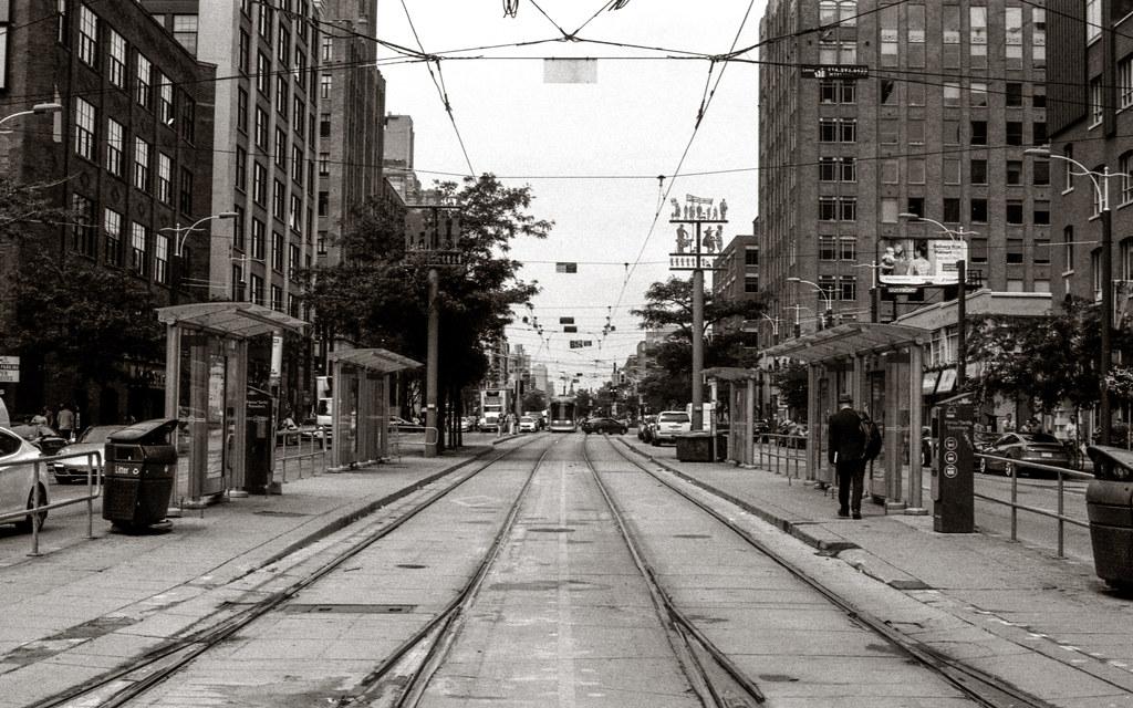 Spadina LRT Tracks._