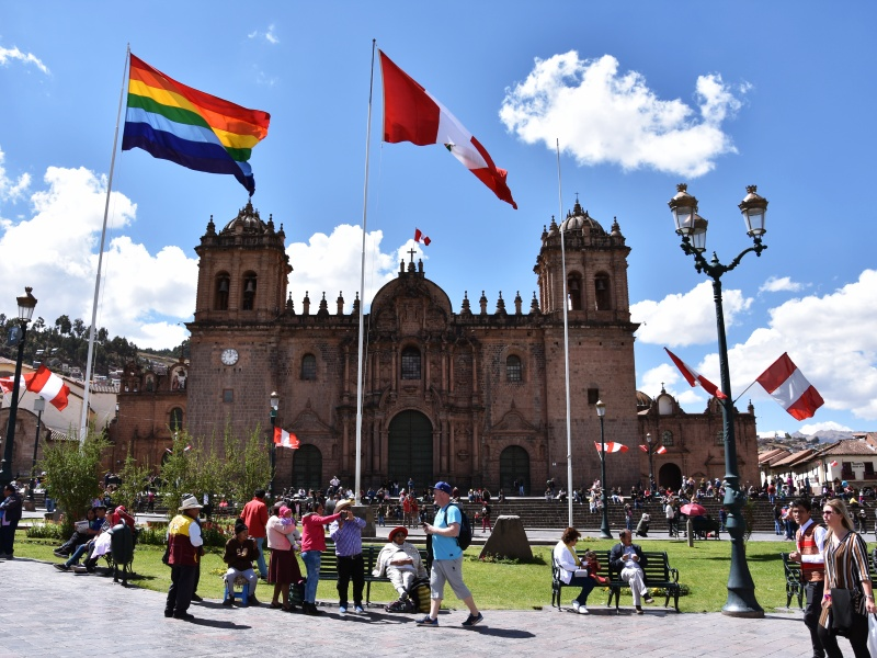 Cusco Plaza de Arms