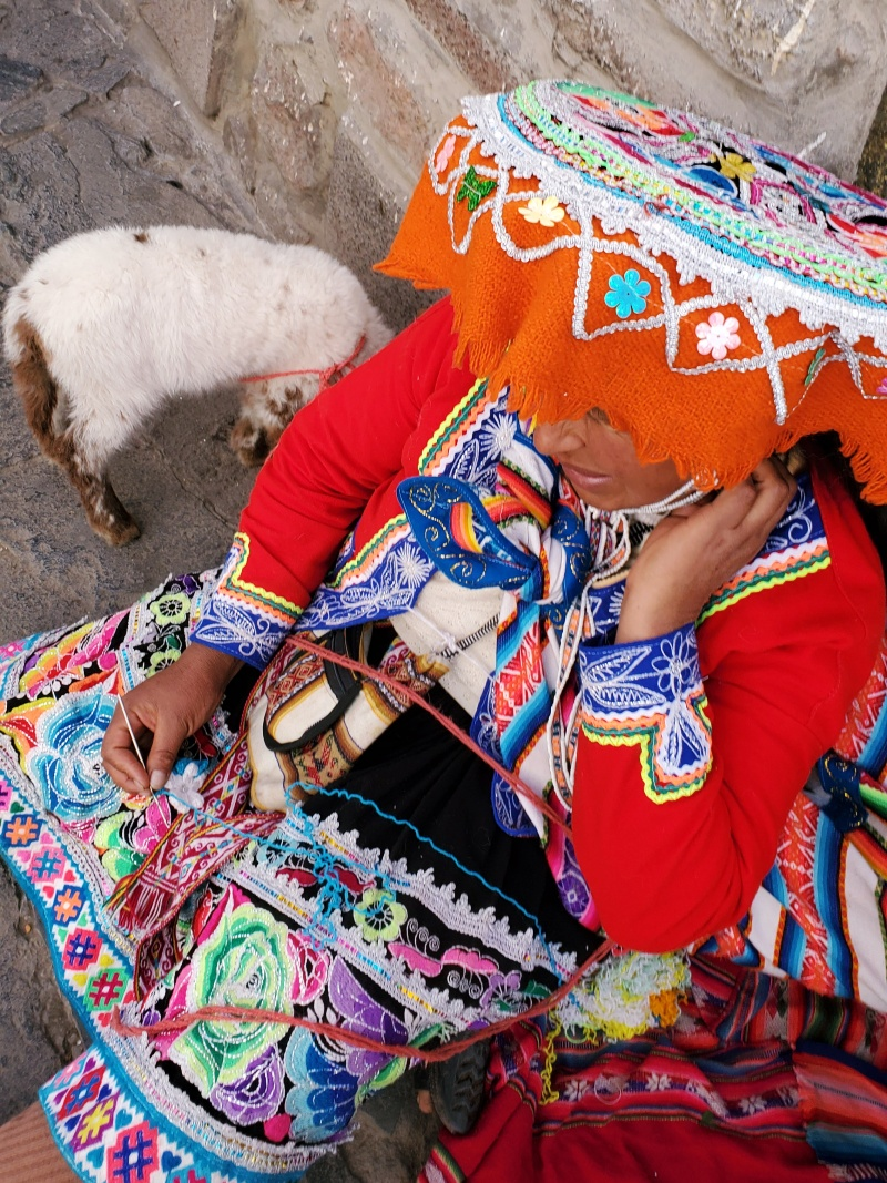 Incan woman Cusco