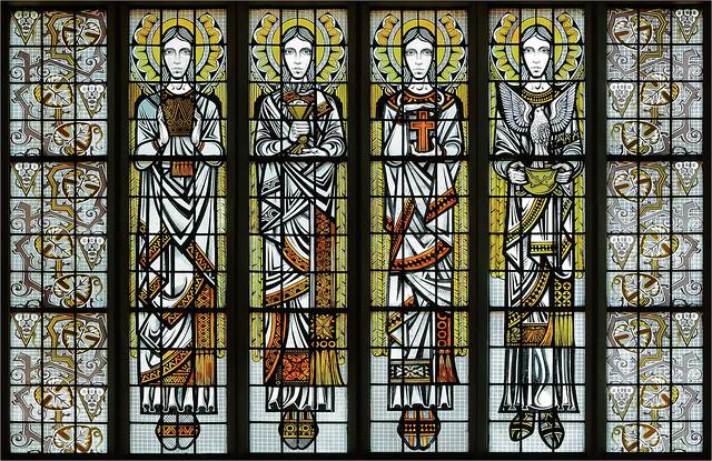 Mid-Century Angel Art