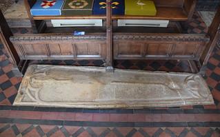 coffin slab