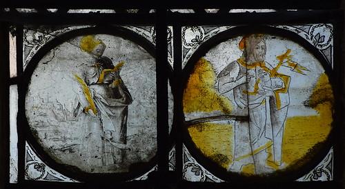 female martyr, St John the Baptist (17th Century, continental)