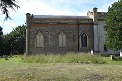 chancel (north side)