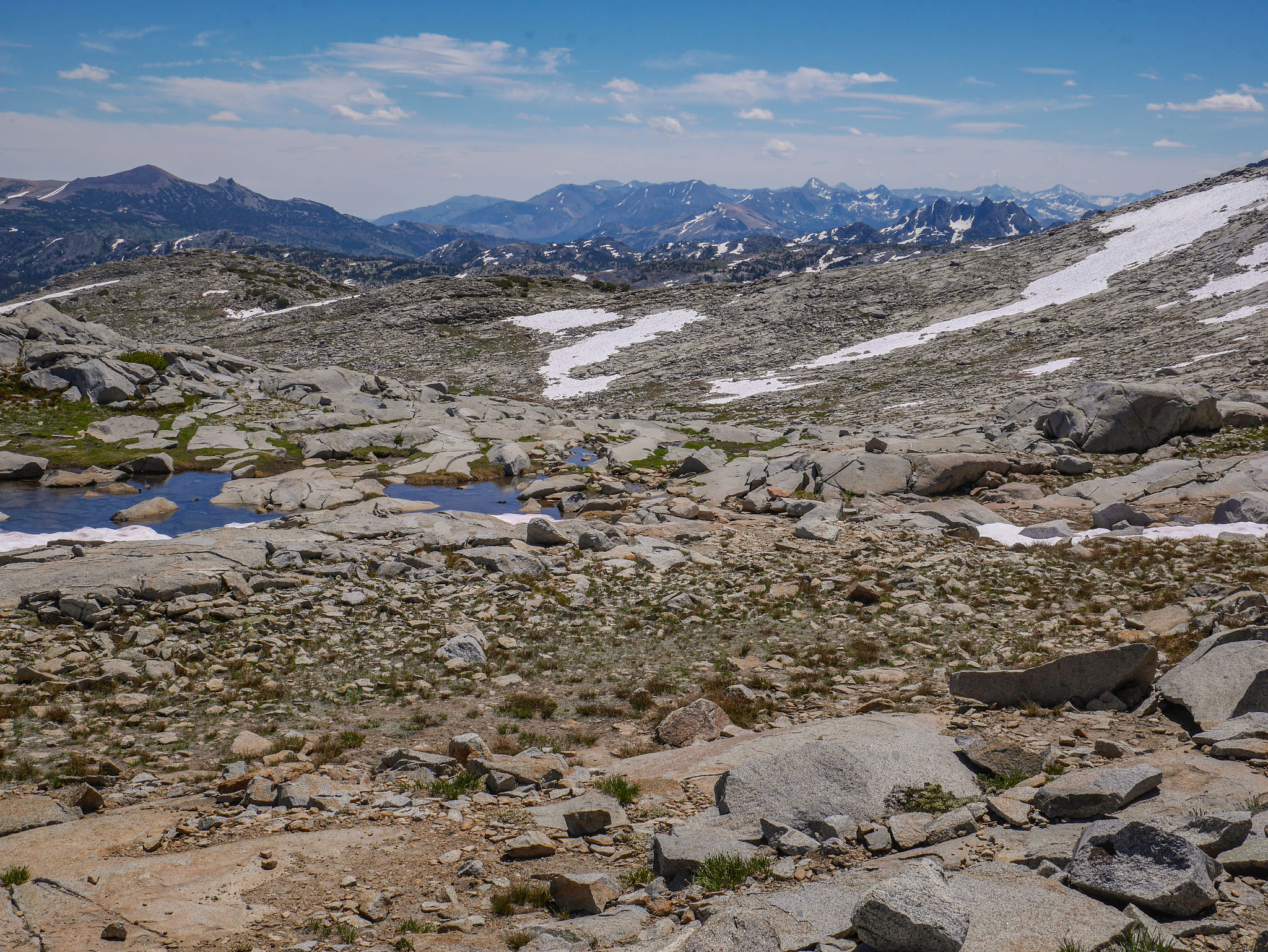 Views from Donahue Pass