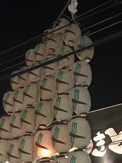 竿燈まつり - 秋田市 Akita, Japan.