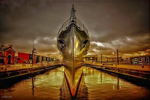 HMS Caroline HDR