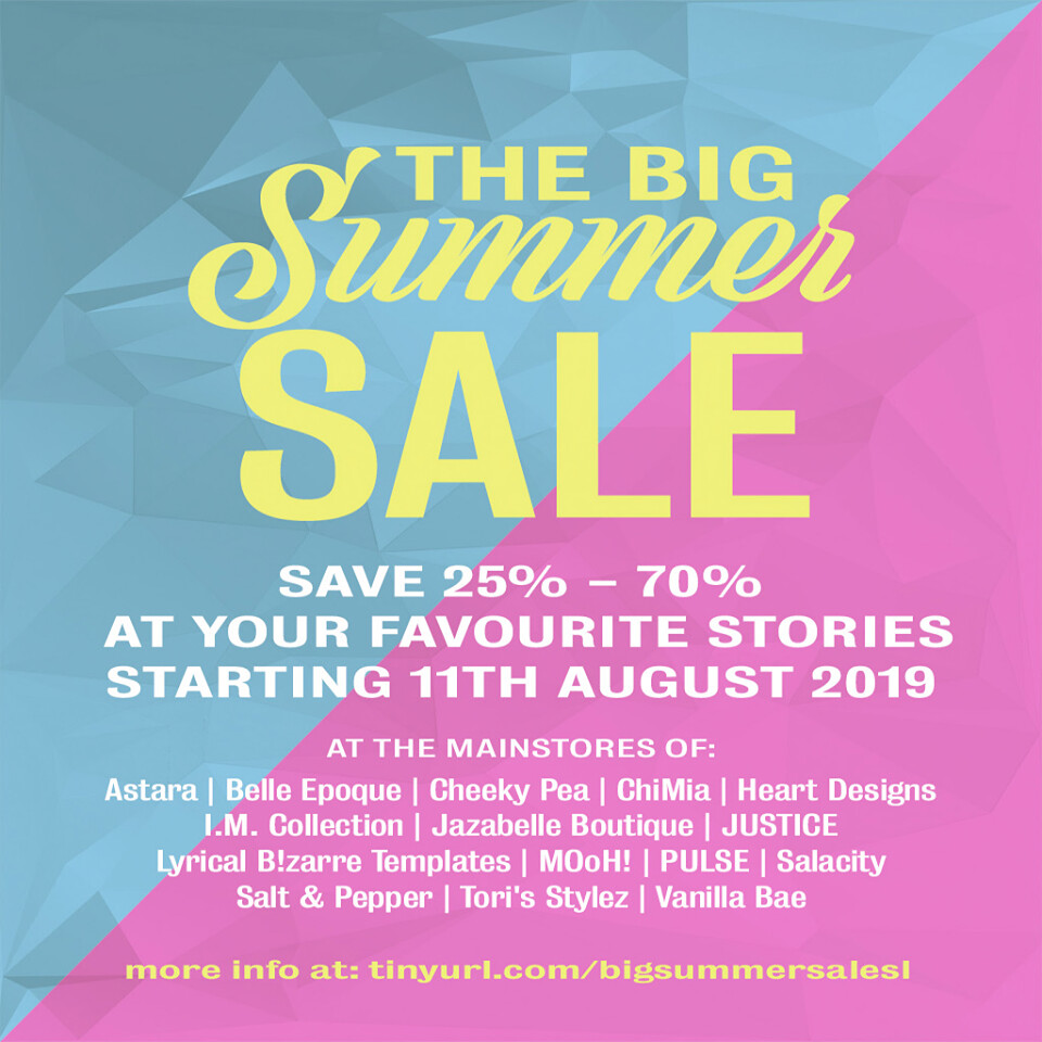 The Big Summer Sale!