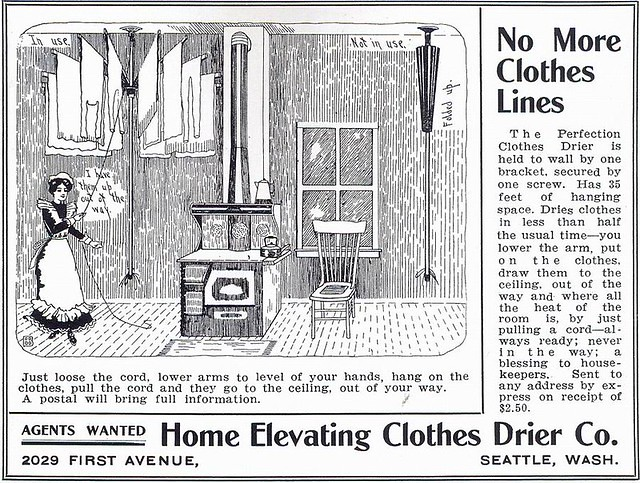 Perfection Clothes Drier 1906