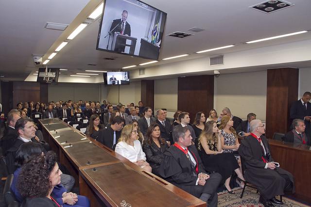 Solenidade de posse de Eduardo Henrique Soares e Marco Antônio Picone no cargo de Procurador de Justiça - 12.08.19
