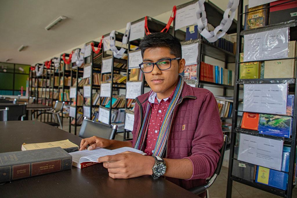 Sebastian Alonso Dulanto Morales - Primer puesto de Beca Excelencia Académica para Hijos de Docentes 2019