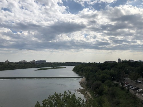 Saskatoon - looking to the South Saskatchewan River