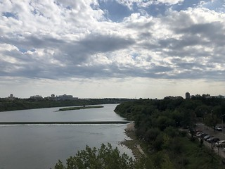Saskatoon - looking to the South Saskatchewan River | by Pierre Yeremian