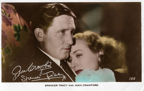 Spencer Tracy and Joan Crawford in Mannequin (1937)