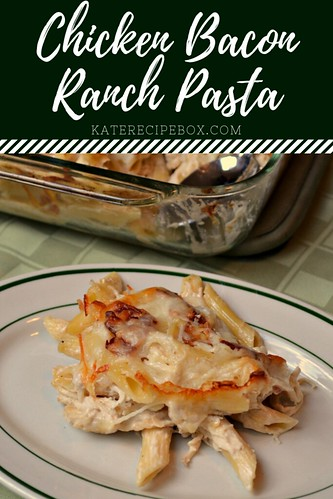 Chicken Bacon Ranch Pasta | by katesrecipebox