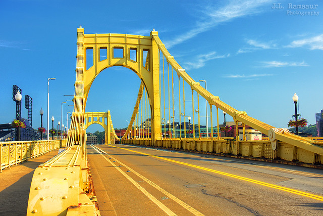 Roberto Clemente Bridge - Pittsburgh, Pennsylvania