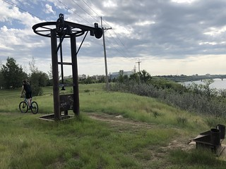 Saskatoon - Abandoned Ski Lift at the river | by Pierre Yeremian