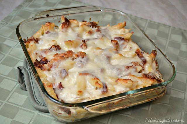 Chicken Bacon Ranch Pasta 3