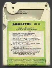 """1971 - Trilha Sonora Original da Novela """"O Homem que Deve Morrer"""" - brazil 8 track - fita cartucho de 8 pistas."""