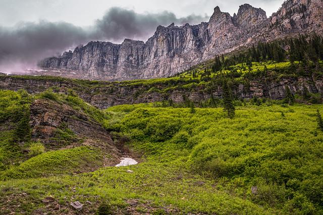 Glacier National Park, Siyeh Bend, Montana