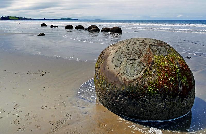 The Moeraki Boulders NZ