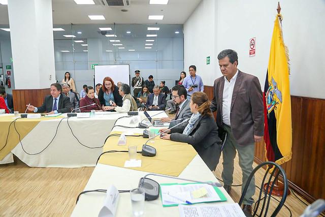 SESIÓN COMISIÓN DE FISCALIZACIÓN. QUITO, 12 DE AGOSTO DEL 2019