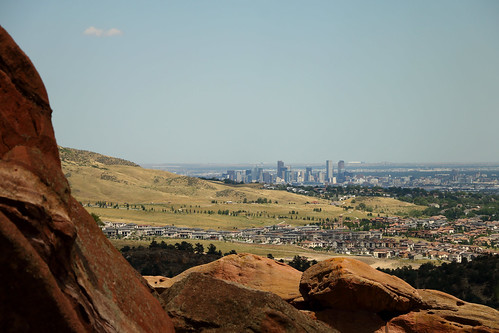dullboy2816 denver colorado denvercolorado denverskyline skyline city building redrocks view houses redrocksamphitheater