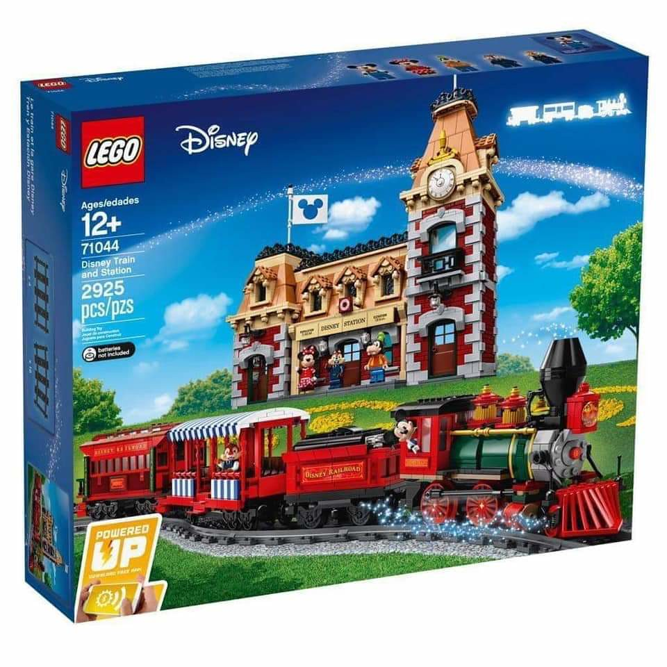 New Lego Disney Train and Station...