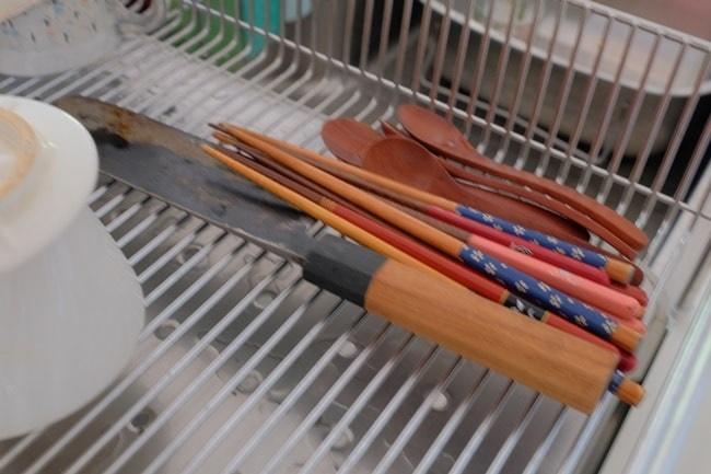 箸がおける水切りカゴ