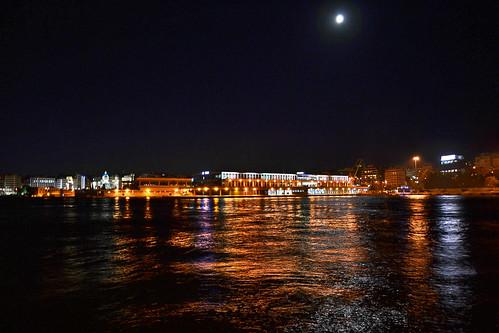 Piraeus by night