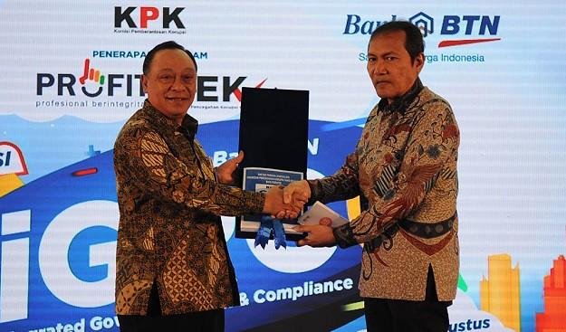 Bank BTN Gandeng KPK Cegah Korupsi