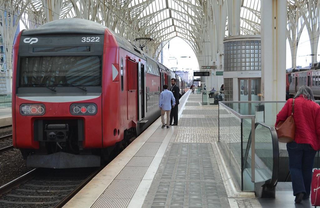 Estação / Gare do Oriente  Lisboa