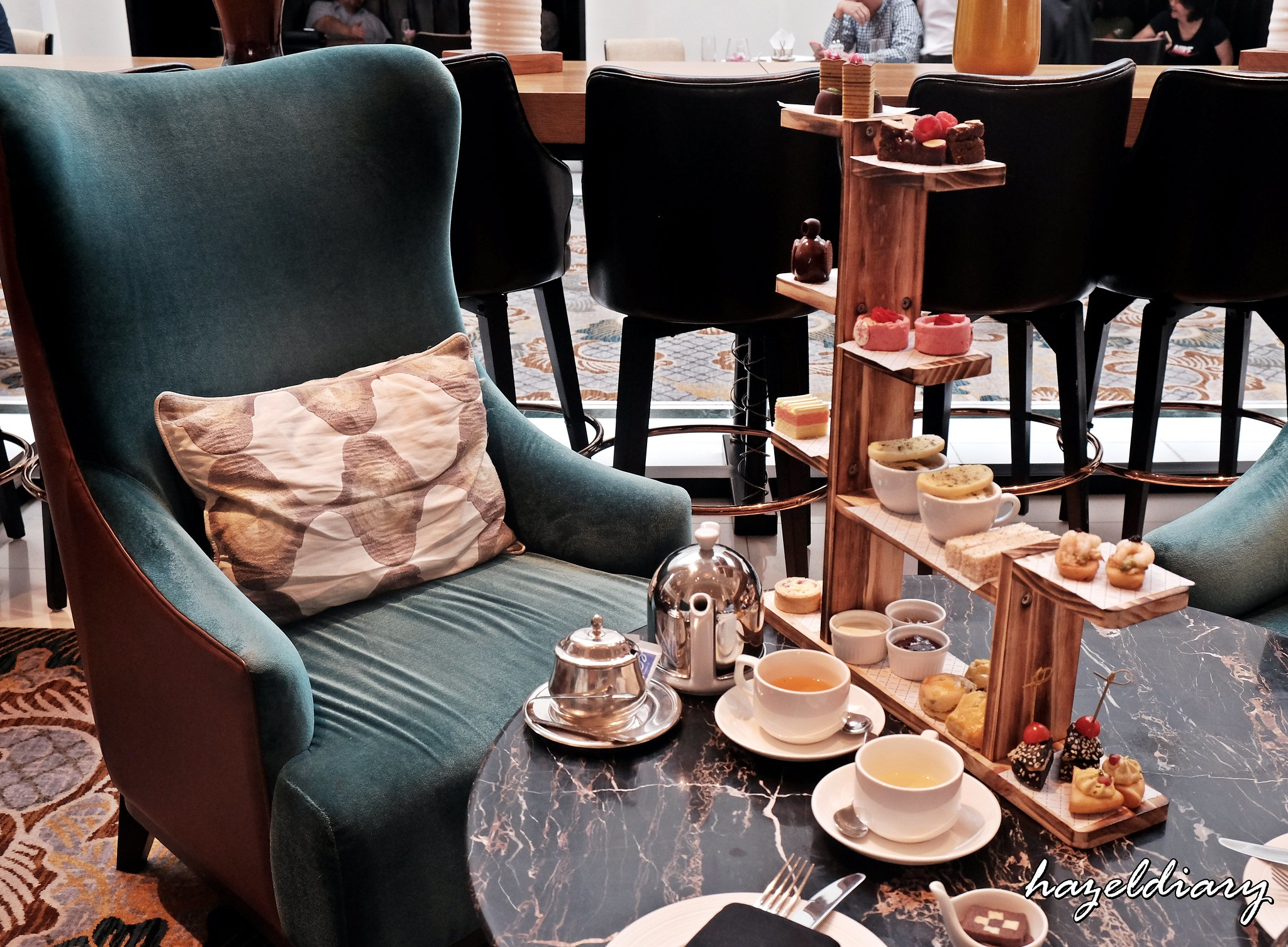 [SG EATS] Classic Afternoon Tea At The Lobby Lounge | Hotel InterContinental Singapore